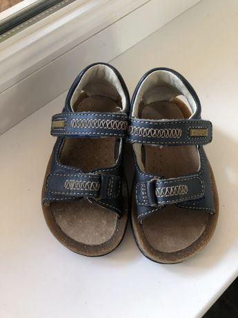 Camper 13 см, кожаные сандалии