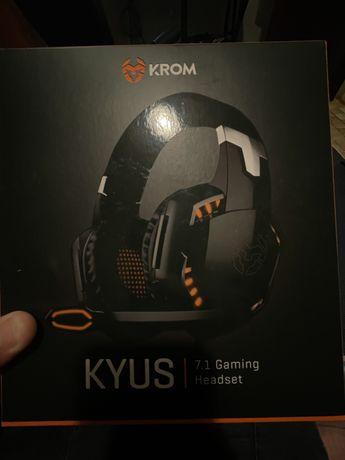 krom kyus headset 7.1 gaming headset
