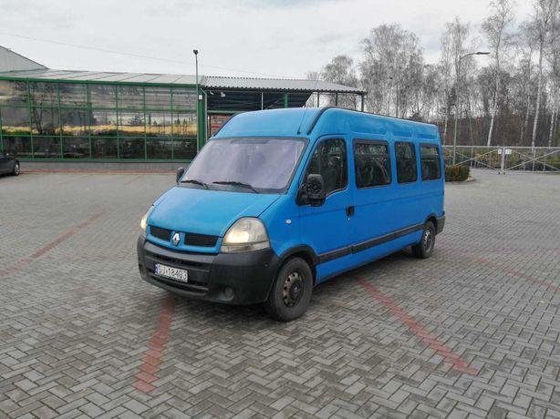Renault Master 17+1 04r Klimatyzacja Salon Polska