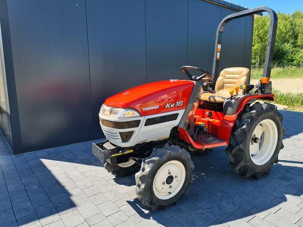 Mini traktor,,Yanmar Ke16,stan jak nowy! ogrodniczy,sadowniczy,wspomag