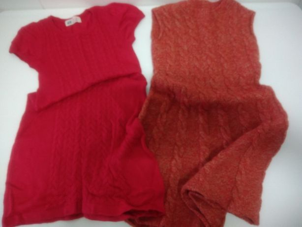 Vestidos de malha 6 a 8 anos