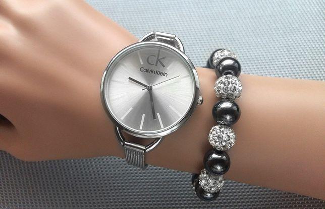 Nowy zegarek Calvin Klein, srebrny