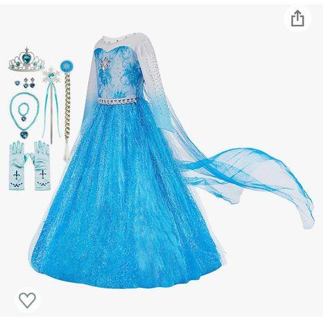 Платье Эльзы на рост 120