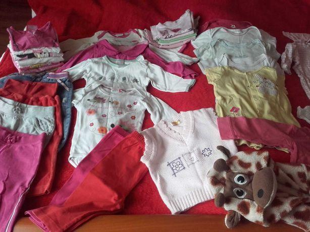 Mega paka na 6-12 miesięcy dla dziewczynki