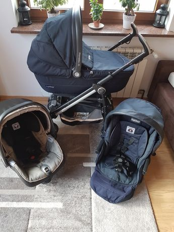 Wózek Peg Perego Pliko Switch compact 3w1 lub 4w1 WYSOKI MODEL!