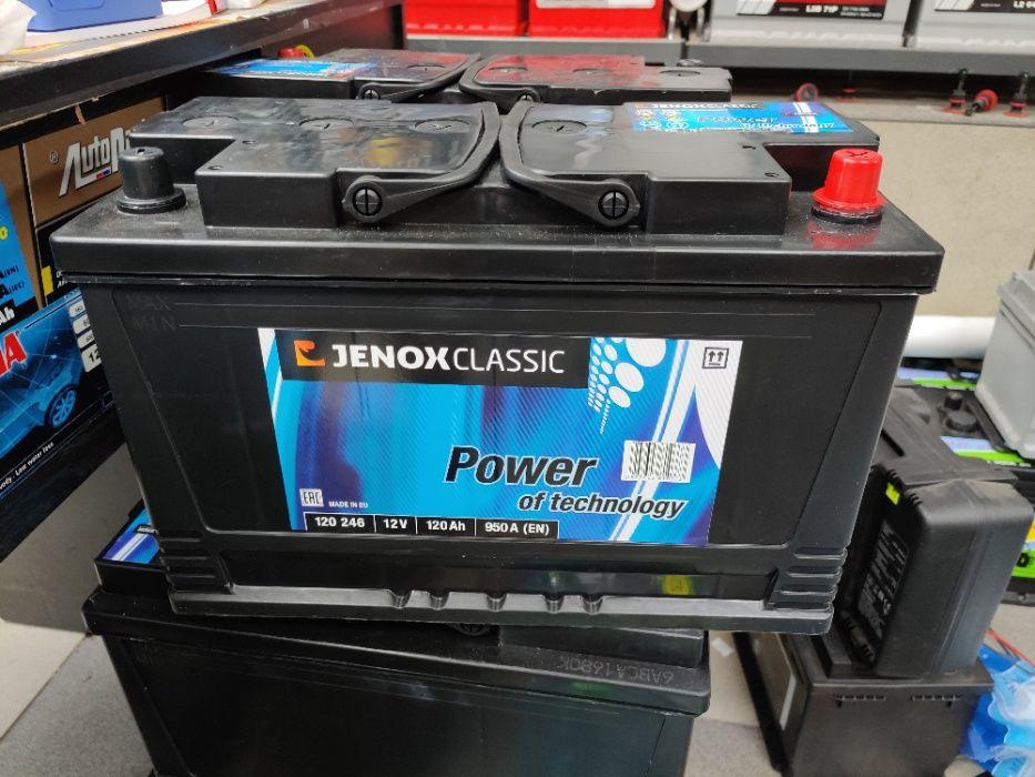 Akumulator Jenox Classic 12V 120Ah 950A P+ Dowóz Montaż Kraków Kraków - image 1
