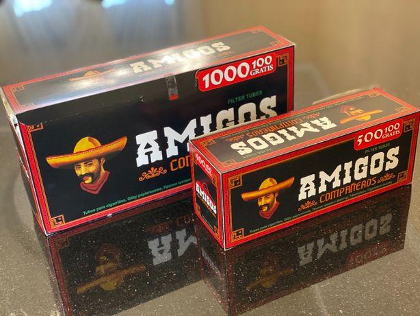 AMIGOS 1000 1 ЯЩ Гильзы для сигарет, для табака, сигаретные гильзы