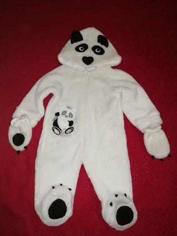 Человечек панда махровый