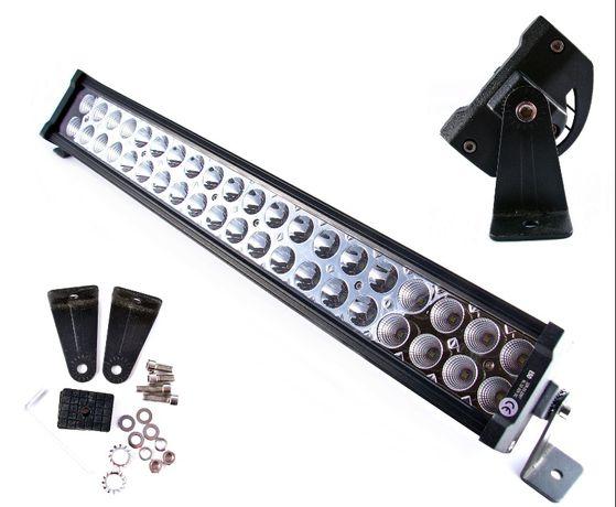 Panel Roboczy LED Lampa ROBOCZA HALOGEN 40LED 120W 12/24V