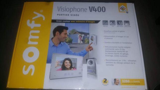 Videodomofon Somfy V400 biały