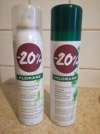 Szampon suchy Klorane