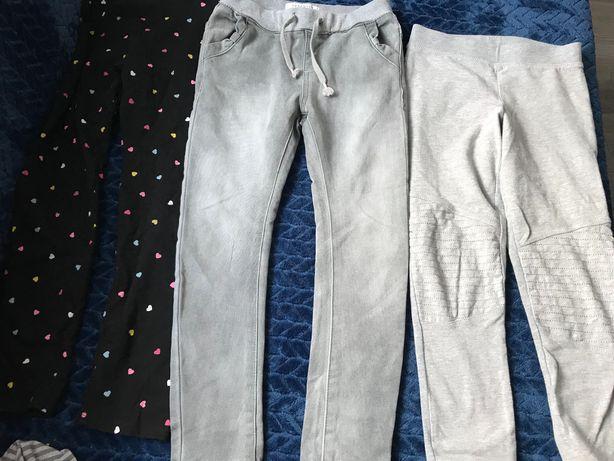 Spodnie dziewczęce h&m, pepco, lupilu, reserved, cool club, zara