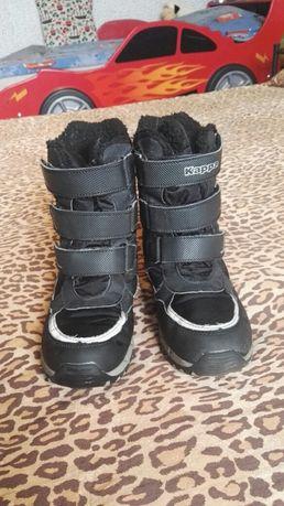 Ciepłe buty chłopięce KAPPA