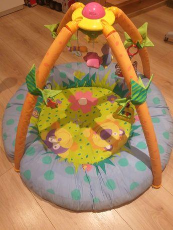 Mata edukacyjna, interaktywna dla niemowlaka.