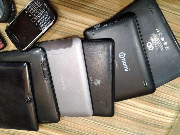 Мега лот планшеты телефоны.