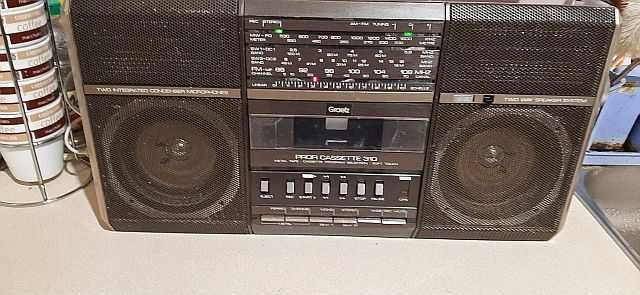 Radiomagnetofon Graetz Profi Cassete 310 rok 85/86 gra głośno