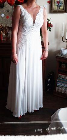 Suknia ślubna boho rozmiar 38-40
