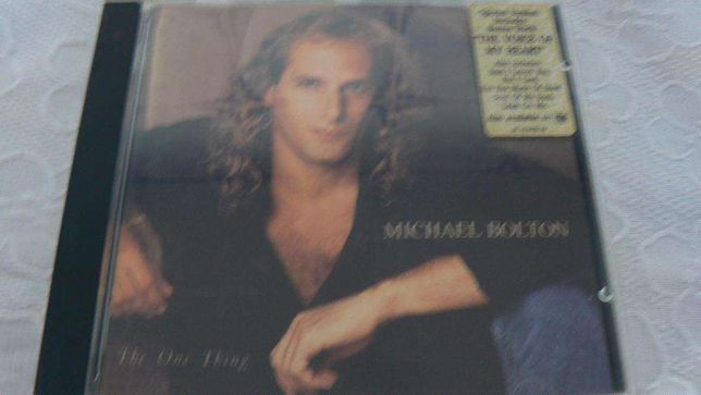 """CD """"The one thing"""" Michael Bolton"""