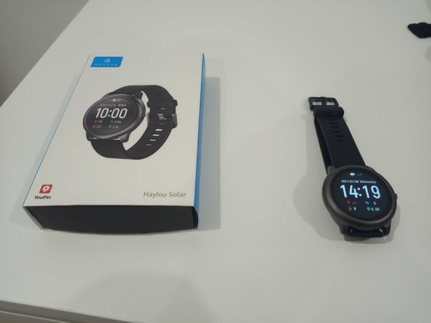 Smartwatch Haylou Solar LS05 Preto (COMO NOVO)