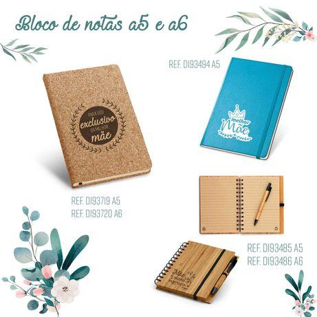 Blocos e cadernos personalizados  para qualquer ocasião