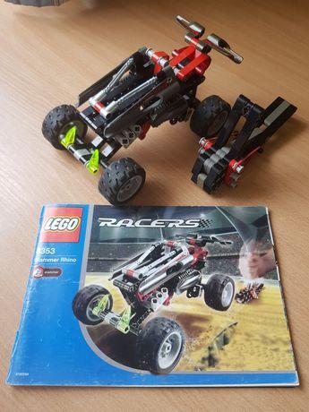 Zestaw LEGO 8353, Slammer Rhino Set, samochód, autko