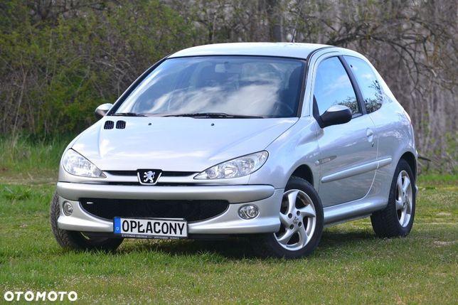Peugeot 206 !!! OPŁACONY, Pełen Serwis, Komputer, Klimatyzacja, Alu, Elektryka !!!