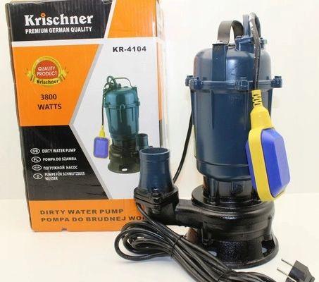 Pompa Do Wody Brudnej Szamba Z Rozdrabniacz Pływak Krischner KR-4104
