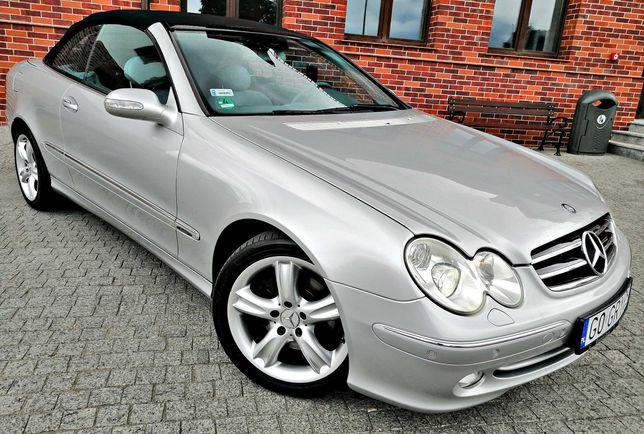 Piękny Doinwestowany Mercedes CLK 240 AVANGARDE. Full Mega Wypas Alus