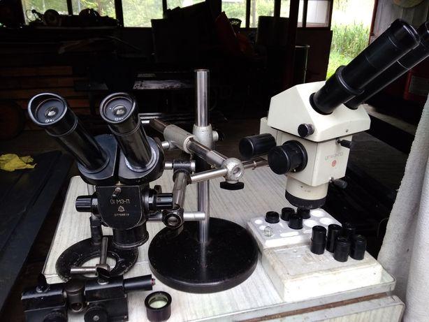 Микроскопы ОГМЭ-П и ОГМЭ-П3.