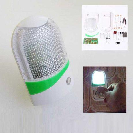 Светильник ночник с датчиком освещенности света LED детский, в детскую
