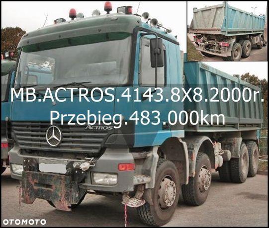 Mercedes-Benz Bezwypadkowy_Serwisowany_TOP-STAN  ACTROS.4143/8X8/3.Str.Wywrotka/Meiller/z Niemiec