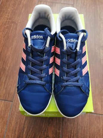 Adidasy buty damskie dziewczęce adidas neo B74552 r. 36
