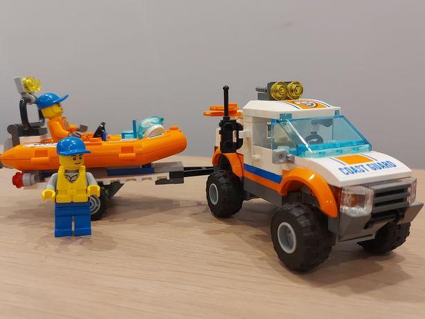 Lego City wóz terenowy straży przybrzeżnej