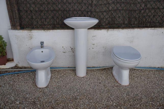 Loiças Casa banho, lavatorio, sanita, bidé
