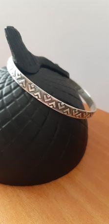 stara srebrna bransoletka Rytosztuka