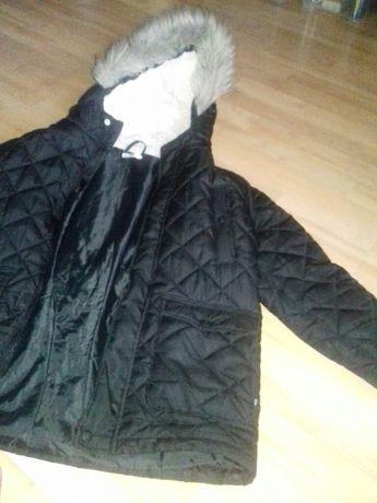 Lekka kurtka zimowa chłopięce 146 cm pikowana