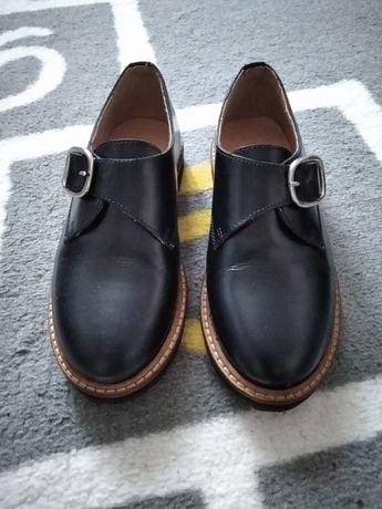 Zara buty skóra 31