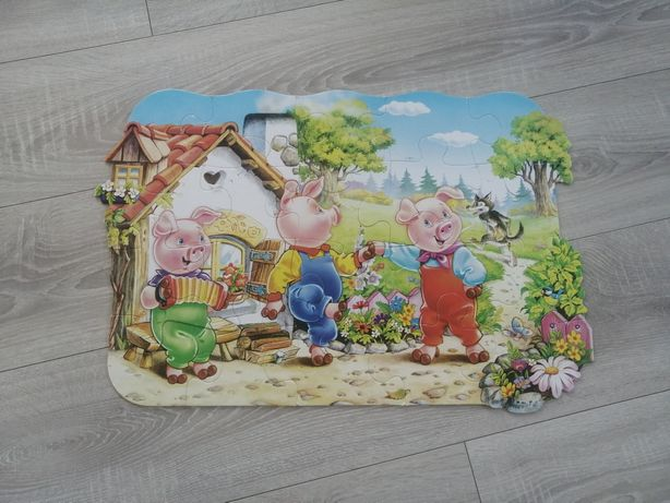 Puzzle dla dzieci 3 i 4 plus