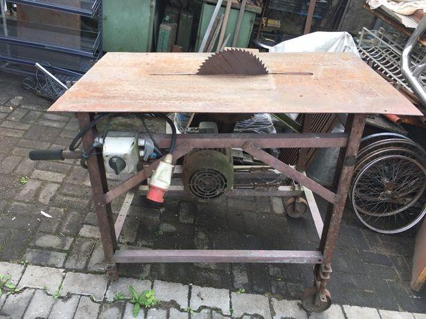 Piła stolowa 380v 7.5kw krajzega cyrkularka tarczowa