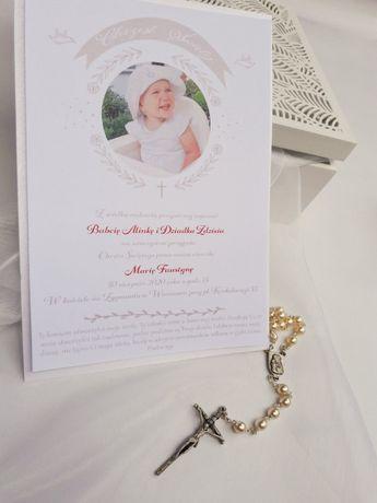 Zaproszenie ślubne A4, opaska - piękne WARSZAWA