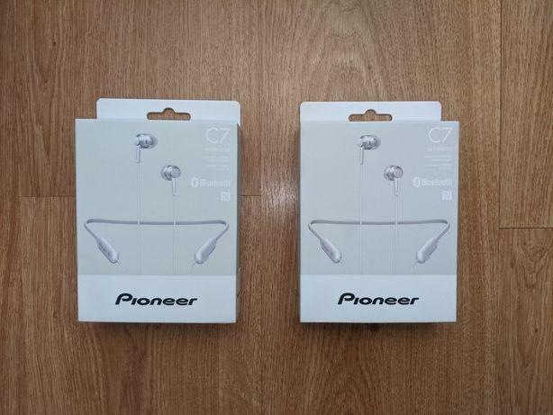 Słuchawki bezprzewodowe bluetooth Pioneer SE-C7BT(W)
