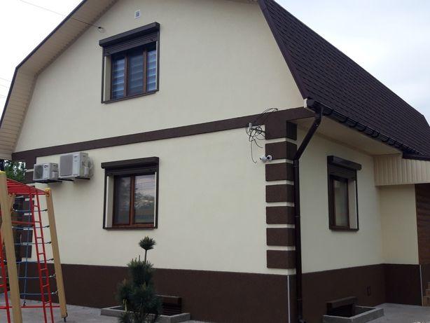 Утепление фасада, облицовка стен