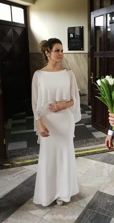 Pelerynka, narzutka na ślub