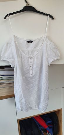 Bluzka biała F&F, rozmiar M