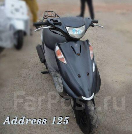 Запчасти на скутер suzuki address v125