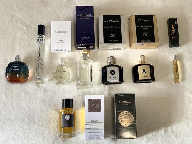 Chanel Gaultier Tom Ford YSL Versace Dior Gucci Pour Homme Yohji Yves