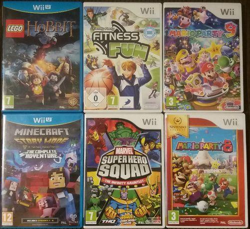 Diversos Jogos Wii e Wii U