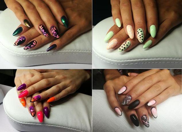 Paznokcie żelowe / HYBRYDA / manicure hybrydowy  / pedicure /TANIO
