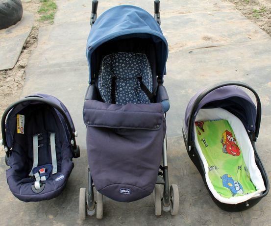 Коляска разборка 3в1 Chicco Trio Sprint Автокресло детское