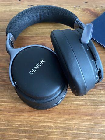 Słuchawki Denon AH-GC20 (bluetooth, noice cancelling) - cały zestaw